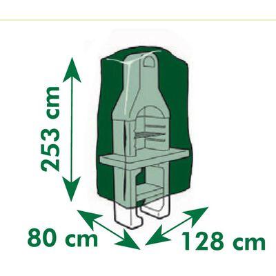 Nature Κάλυμμα για Χτιστές Ψησταριές 253 x 128 x 80 εκ.