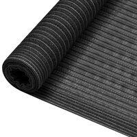 vidaXL Δίχτυ Σκίασης Ανθρακί 1,8 x 25 μ. από HDPE 195 γρ./μ²