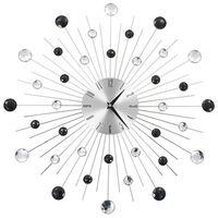vidaXL Ρολόι Τοίχου Μοντέρνο 50 εκ. με Μηχανισμό Quartz