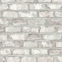 DUTCH WALLCOVERINGS Ταπετσαρία Τοίχου Τούβλα Λευκή EW3104