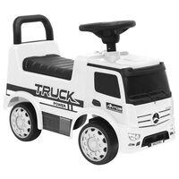 vidaXL Αυτοκίνητο Παιδικό Περπατούρα Mercedes-Benz Φορτηγό Λευκό