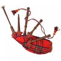 vidaXL Γκάιντα Σκωτσέζικη Παιδική Σκωτσέζ. Καρό Κόκκινο Royal Stewart