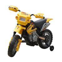 Ηλεκτροκίνητο παιδικό μηχανάκι Κίτρινο