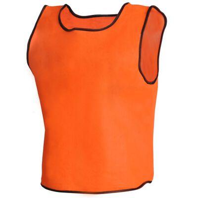 Σαλιάρα ποδοσφαίρου Πορτοκαλί Junior 10 τμχ