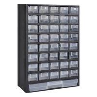 Πλαστικό Κουτί Αποθήκευσης Εργαλείων με Συρτάρια