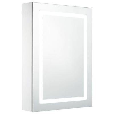 vidaXL Ντουλάπι Μπάνιου με Καθρέφτη και Φωτισμό LED 50 x 13 x 70 εκ.