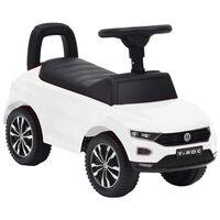 vidaXL Παιδικό Αυτοκίνητο Περπατούρα Volkswagen T-Roc Λευκό