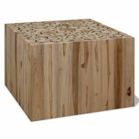 vidaXL Τραπεζάκι Σαλονιού 50 x 50 x 35 εκ. από Αληθινό Ξύλο Teak