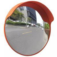 Καθρέφτης Ασφαλείας Κυρτός Εξωτερ. Χώρου Πορτοκαλί 45 εκ. Πλαστικό PC