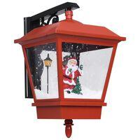 vidaXL Φωτιστικό Τοίχου με Άγιο Βασίλη Κόκκινο 40 x 27 x 45 εκ. LED