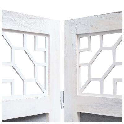 vidaXL Διαχωριστικό Δωματίου με 3 Πάνελ Γκρι 105 x 165 εκ. Υφασμάτινο