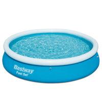 Bestway Πισίνα Φουσκωτή Στρογγυλή Fast Set 366 x 76 εκ. 57273