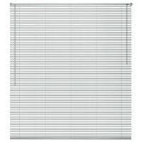 vidaXL Στόρι Παραθύρου Ασημί 100 x 130 εκ. από Αλουμίνιο