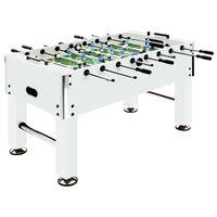 vidaXL Ποδοσφαιράκι Επιτραπέζιο Λευκό 140x74,5x87,5 εκ. 60 κ. Ατσάλι