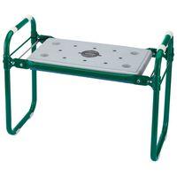 Draper Tools Κάθισμα Κήπου/Προστατευτικό Γόνατων Πράσινο Σίδηρος 64970