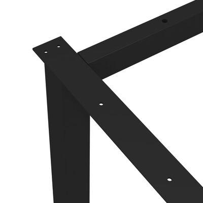 vidaXL Βάση Τραπεζιού με Πόδια σε Σχήμα «O» 160 x 70 x 72 εκ.