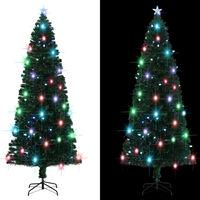 vidaXL Χριστουγεννιάτικο Δέντρο Τεχνητό 380 Κλαδιά 240 εκ. με Βάση/LED