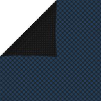 vidaXL Κάλυμμα Πισίνας Ηλιακό Μαύρο/Μπλε 260x160 εκ. από Πολυαιθυλένιο