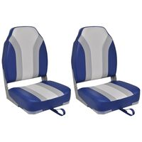 vidaXL Καθίσματα Σκάφους Αναδιπλούμενα 2 τεμ. με Ψηλή Πλάτη