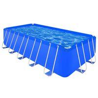 Πισίνα Υπέργεια Ορθογώνια 540 x 270 x 122 cm με Ατσάλινο Σκελετό