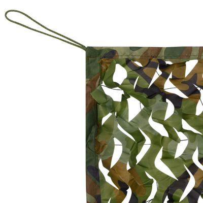 vidaXL Δίχτυ Σκίασης Παραλλαγής 4 x 4 μ. με Σάκο Αποθήκευσης