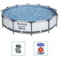 Bestway Σετ Πισίνας Steel Pro MAX 366 x 76 εκ.