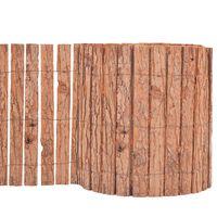 vidaXL Φράχτης Κήπου 1000 x 30 εκ. από Φλοιό Δέντρου