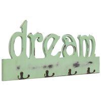 vidaXL Κρεμάστρα Τοίχου «DREAM» 50 x 23 εκ.