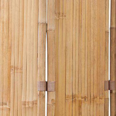 vidaXL Διαχωριστικό Δωματίου με 5 Πάνελ 200 x 160 εκ. Μπαμπού