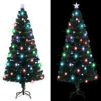 vidaXL Χριστουγεννιάτικο Δέντρο Τεχνητό 220 Κλαδιά 180 εκ. με Βάση/LED