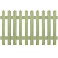 vidaXL Φράχτης Κήπου 170 x 100 εκ. 6/9 εκ. από Εμποτισμένο Ξύλο Πεύκου
