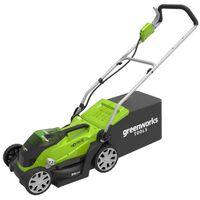 Greenworks Μηχανή Γκαζόν με 2 Μπαταρίες 40 V 2 Ah G40LM35 2501907UC