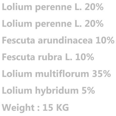 vidaXL Σπόροι Γκαζόν 15 κ. για Ξηρασία και Ζέστη