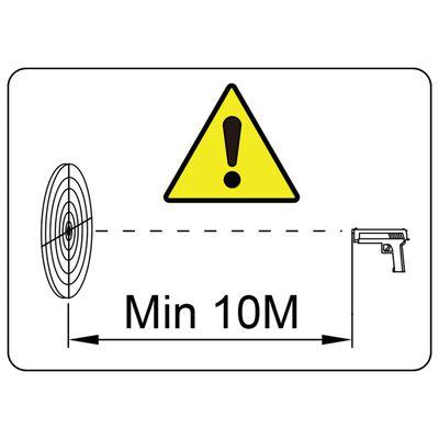 vidaXL Στόχος Σκοποβολής Μαγνητικός 4+1 Στόχοι & Σχέδιο Αγριόχοιροι