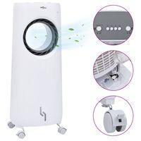 vidaXL Air Cooler / Υγραντήρας 2 σε 1 Φορητός 80 W