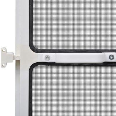 Σήτα Πόρτας με Μεντεσέδες Λευκή 120 x 240 εκ.