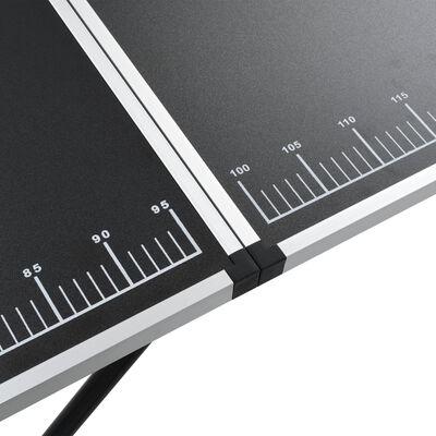 vidaXL Τραπέζι για Κόλληση Ταπετσαρίας 300x60x78 εκ. από MDF/Αλουμίνιο