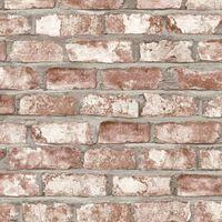 DUTCH WALLCOVERINGS Ταπετσαρία Τοίχου Τούβλα Κόκκινη EW3102