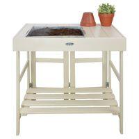Esschert Design Τραπέζι Κηπουρικής Λευκό