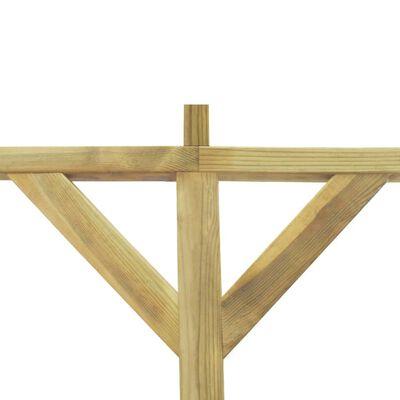 vidaXL Πέργκολα Στηριζόμενη 2 x 5 x 2,2 μ. Ξύλινη