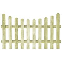 vidaXL Πόρτα Φράχτη 170 x 100 εκ. από Εμποτισμένο Ξύλο Πεύκου