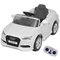 vidaXL Αυτοκίνητο Ηλεκτροκίνητο Audi A3 με Τηλεχειριστήριο Λευκό