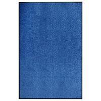 vidaXL Πατάκι Εισόδου Πλενόμενο Μπλε 120 x 180 εκ.