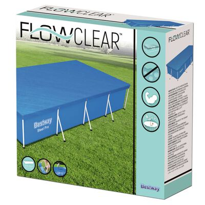 Bestway Κάλυμμα Πισίνας Flowclear 400 x 211 εκ.