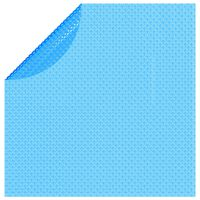 vidaXL Κάλυμμα Πισίνας Ηλιακό Στρογγυλό Μπλε 455 εκ. από Πολυαιθυλένιο