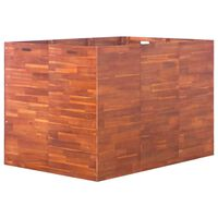 vidaXL Ζαρντινιέρα Υπερυψωμένη 150 x 100 x 100 εκ. από Ξύλο Ακακίας