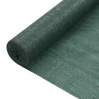 vidaXL Δίχτυ Σκίασης Πράσινο 1,2 x 10 μ. από HDPE 75 γρ./μ²