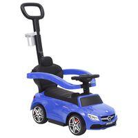 vidaXL Περπατούρα Αυτοκίνητο με Λαβή Mercedes-Benz C63 Μπλε