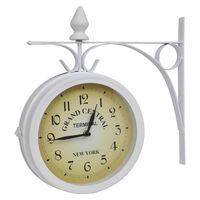 Ρολόι τοίχου κλασικό σχέδιο δύο πλευρών