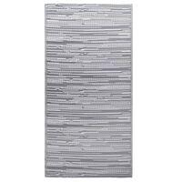 vidaXL Χαλί Εξωτερικού Χώρου Γκρι 120 x 180 εκ. από Πολυπροπυλένιο